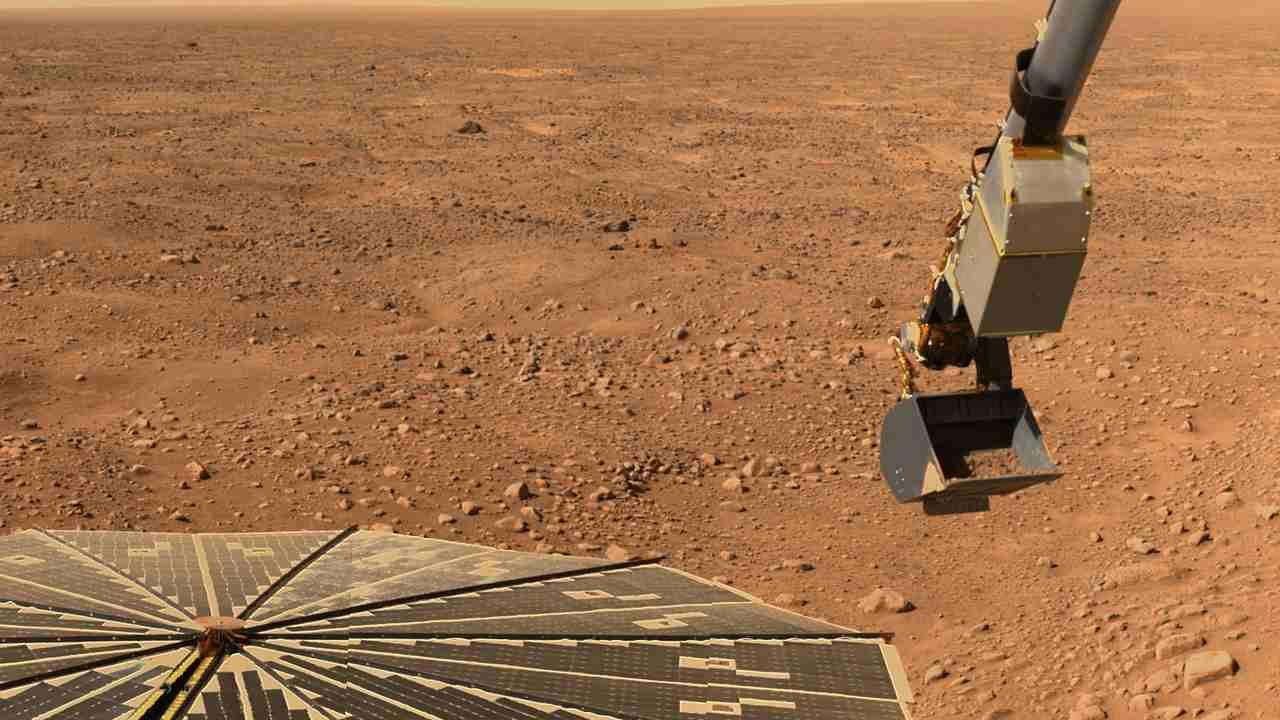 NASA, ecco il suono del vento di Marte