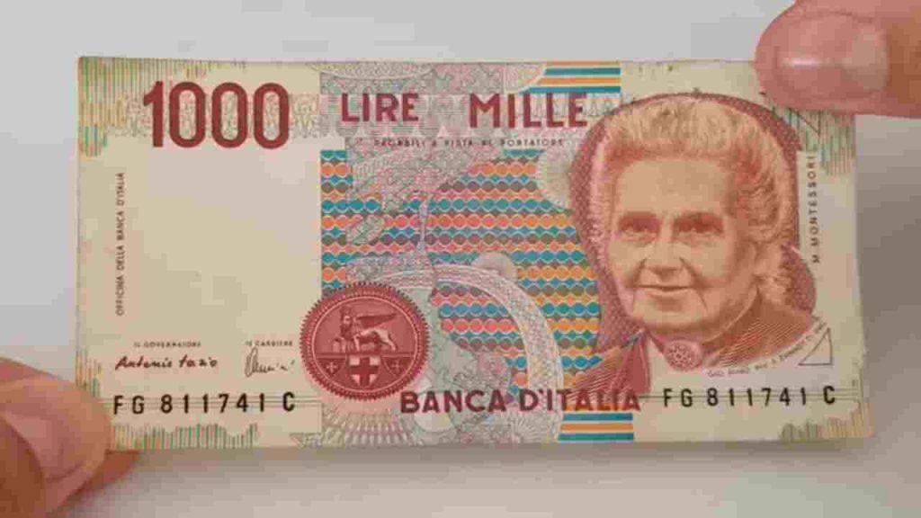 Questa 1.000 lire speciale vale 9.000€! Controlla a casa