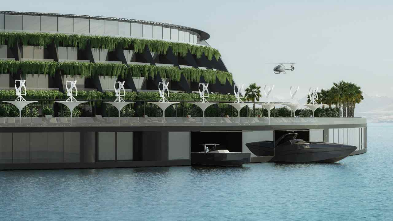 In Qatar c'è il progetto di un hotel galleggiante che produce energia
