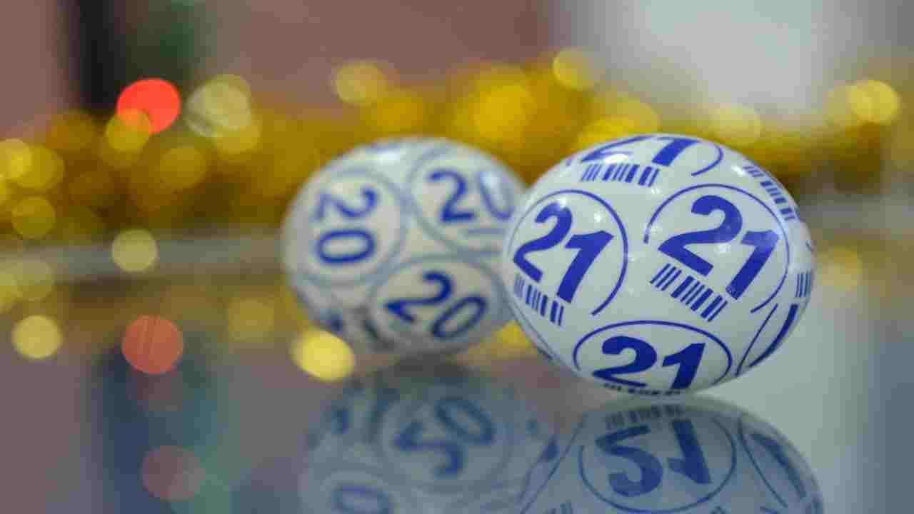 palline per sorteggio numeri