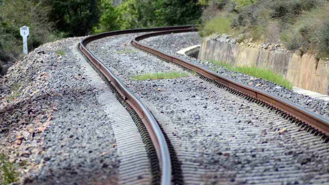 ritrovamento ferrovia