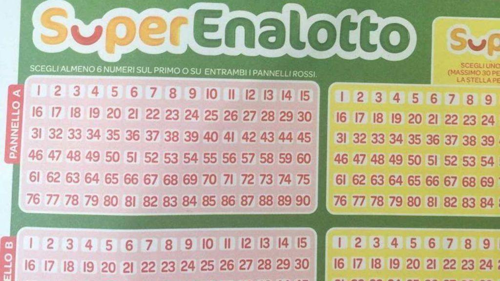 SuperEnalotto |  centrati otto 5  Il jackpot raggiunge una cifra stratosferica