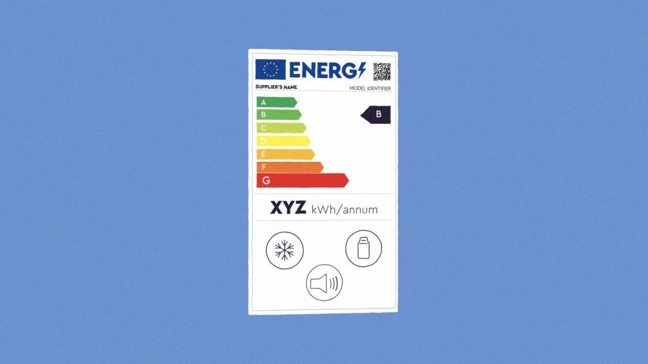 Cambia di nuovo l'etichetta degli elettrodomestici per la classificazione energetica