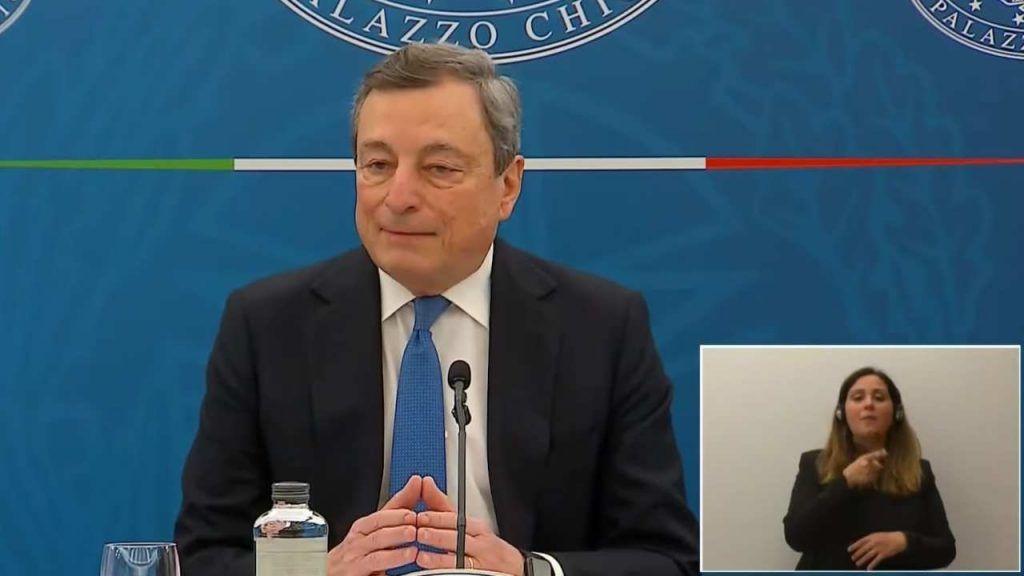 Pensioni, arriva l'annuncio di Draghi su Quota 100