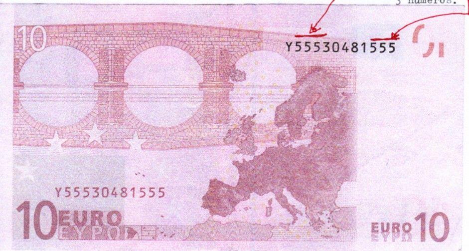 10 euro banconote rare