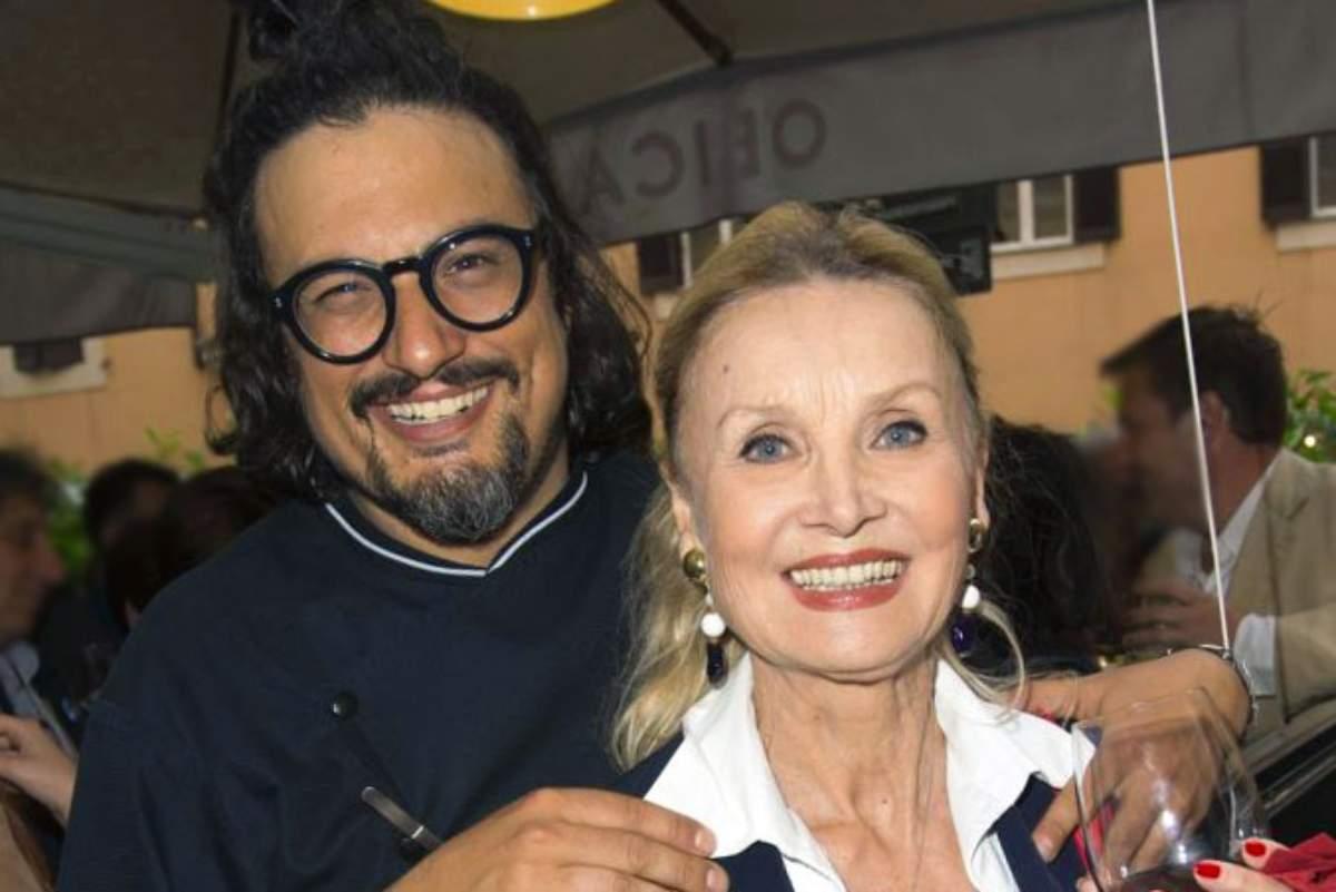 Barbara Bouchet e Alessandro Borghese