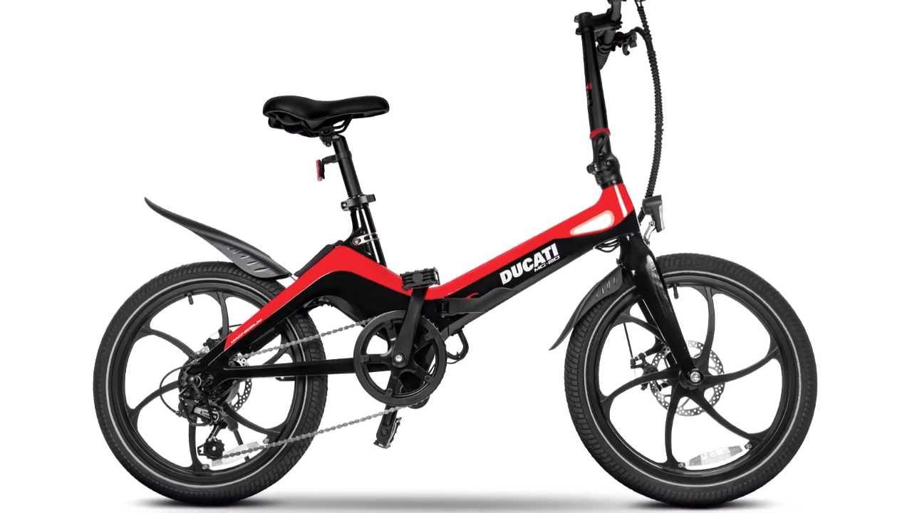 Ducati presenta la MG–20: la e-bike pieghevole e leggerissima