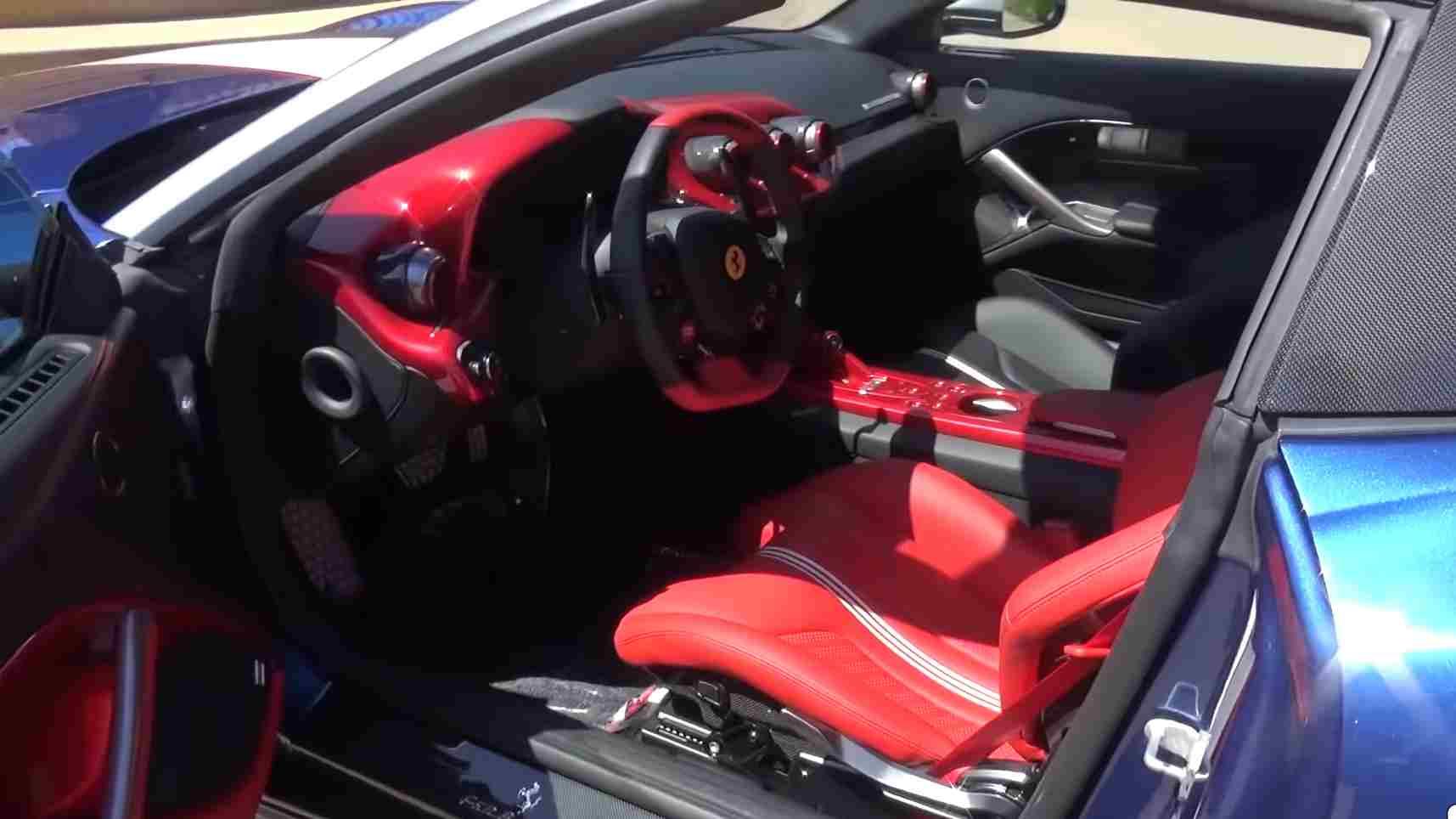 Ferrari F60, storico modello va all'asta