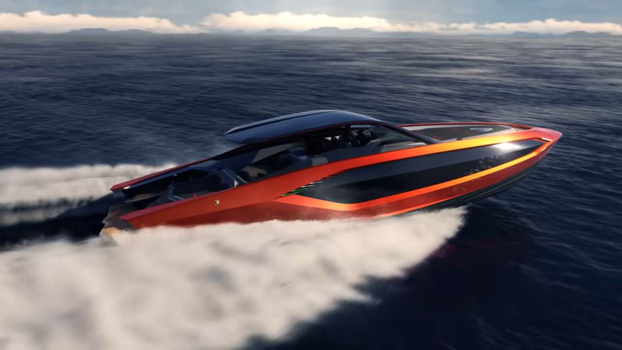 Lamborghini, Ecco il primo yacht realizzato da The Italian Sea Group