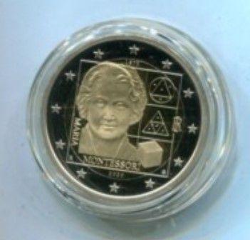 Moneta da2€ Maria Montessori