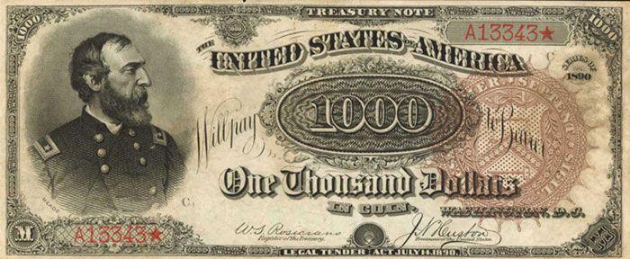 banconota 1890 Grand Watermelon