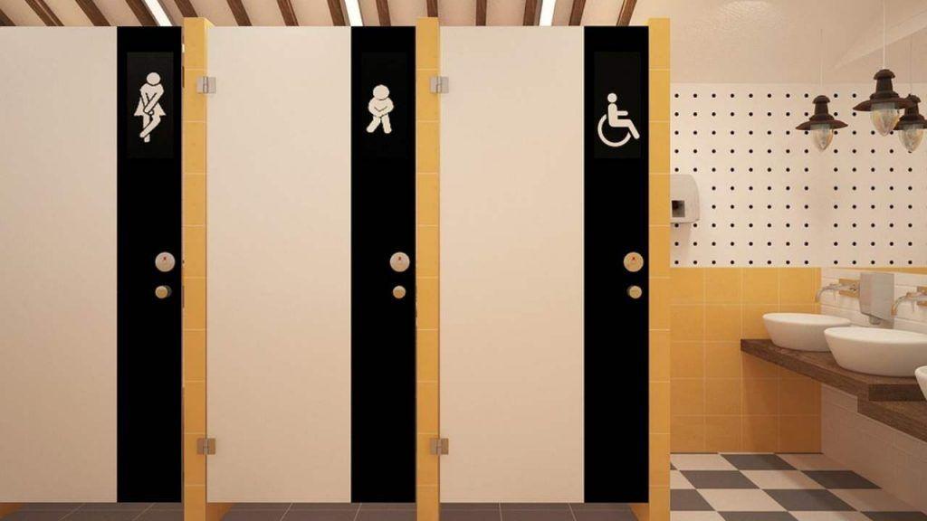 Attenzione nei WC pubblici: accade quando si attiva lo sciacquone